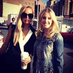 Samantha with Rachel Zoe