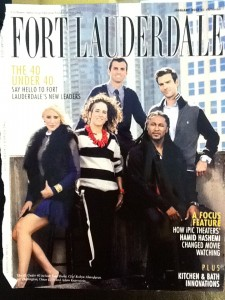 Fort Lauderdale Cover styled by Samantha Brown and Elysze Held