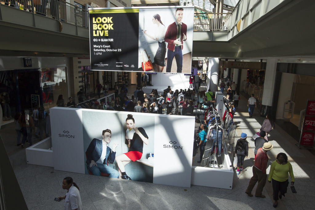 Simon Malls Look Book Live Lounge, pulled and styled by Samantha in 6 Simon markets