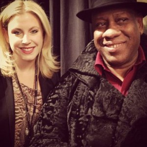 Samantha Brown and Andre Leon Talley