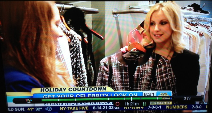 Samantha on Good Morning America