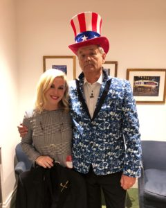 Samantha dressed Bill Murray for The Late Show with Stephen Colbert