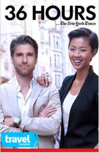 Kristen Kish and Kyle Martino of Travel Channel's '36 Hours', season one styled by Samantha