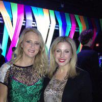 Samantha with designer, Nanette Lepore