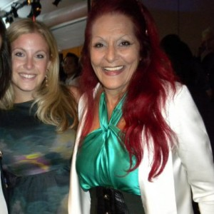 Samantha Brown and Patricia Field