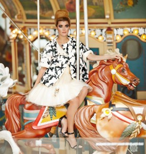 Photo Shoot at Jane's Carousel with Tony von Thelen