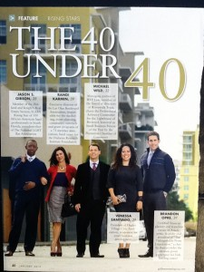 'The 40 Under 40' styled by Samantha Brown and Elysze Held