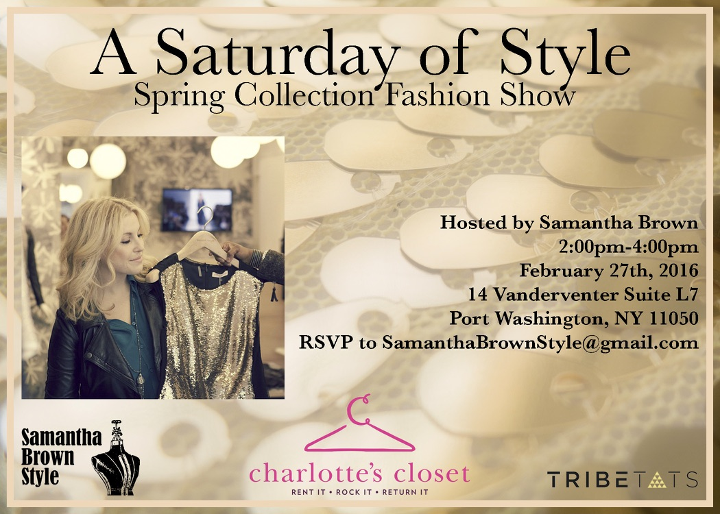 A Saturday of Style Invite