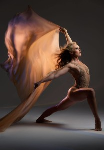 Natalie Wilmshurst, dancer project shoot with Joe Mcnally for Nikon