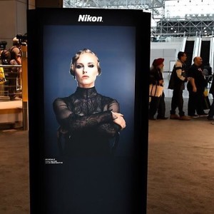 Natalie Wilmshurst, dancer project shoot with Joe Mcnally for Nikon